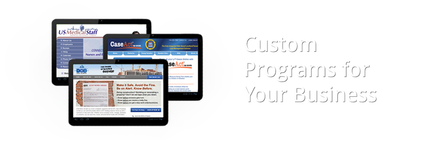 Custom Programs for Your Business